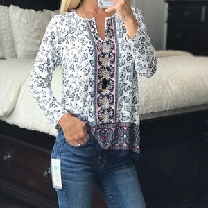 Daniel Rainn Long Sleeve Top